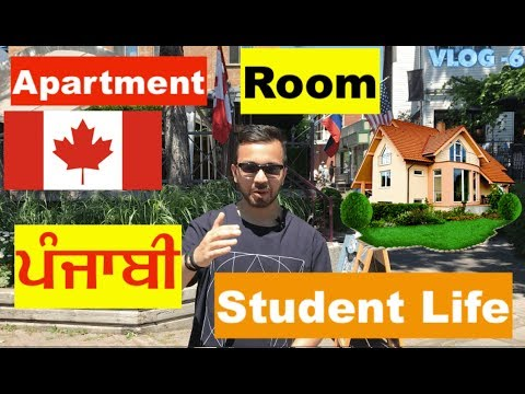Vlog 6: How To Find A Room Or Apartment In Canada On Rent| For International Students And Immigrants