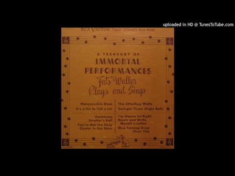 "Fats Waller ‎– ""Fats"" Waller Plays And Sings Full Album 1954"