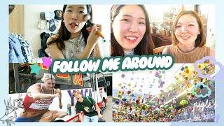 일본인 친구 히카리 만나는 겟레디위드미 + VLOG / MY JAPANESE FRIEND