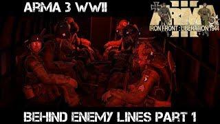 ArmA 3 Gameplay - WWII - Behind Enemy Lines p1 - Liru as Zeus