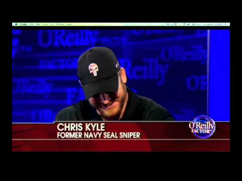 Chris Kyle American Sniper on Oreilly talking about Iraq and Jesse Ventura