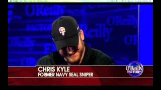 Chris Kyle American Sniper on Oreilly talking about Iraq and Jesse Ventura thumbnail