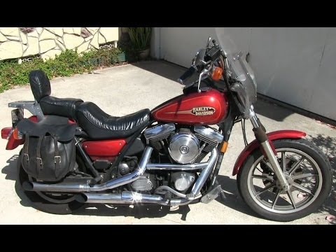 What Is A Harley Davidson FXR Motorcycle?