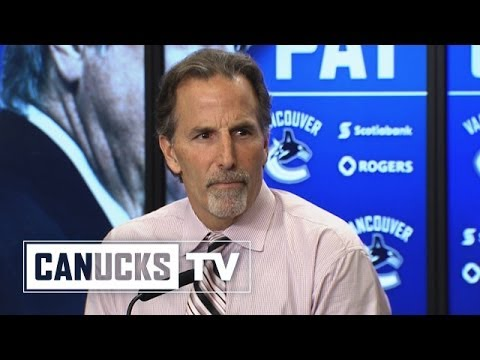 John Tortorella on Daniel Sedin injury (Apr. 13, 2014)