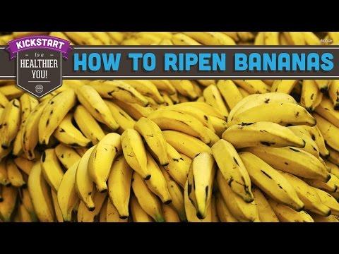 Вопрос: Как сделать так, чтобы бананы дозрели?