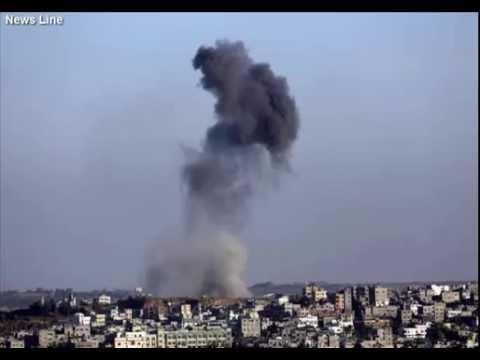 Israel Shells Gaza Following Rocket No Injuries