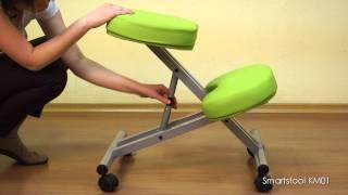 Обзор и настройка ортопедического коленного стула SmartStool KM01 (версия до 2017 года)