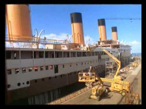 Titanic Movie 1997 Set Ship Construction Time Lapse Amazing Youtube