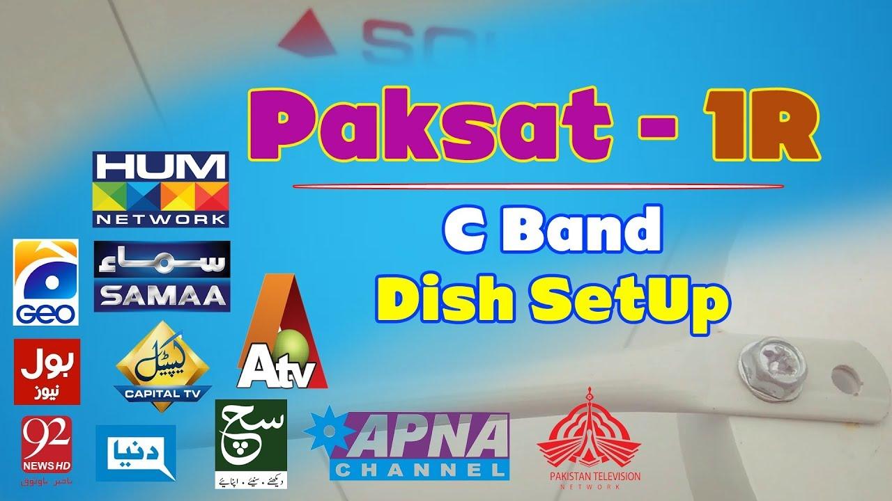 PAKSAT 1R 38°E C-Band | Dish SetUp & Channel List