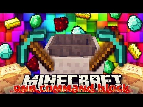 LA MACCHINA CHE SCAVA MINERALI DA SOLA - Minecraft ITA - One Command Block - Vanilla Mod