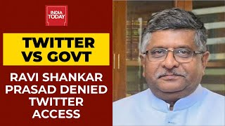 Twitter Denies Access To Ravi Shankar Prasad For Alleged Infringement Of US Digital Act   Breaking