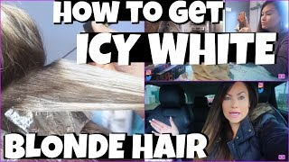 How To Get Icy Blonde Platinum Hair At Home