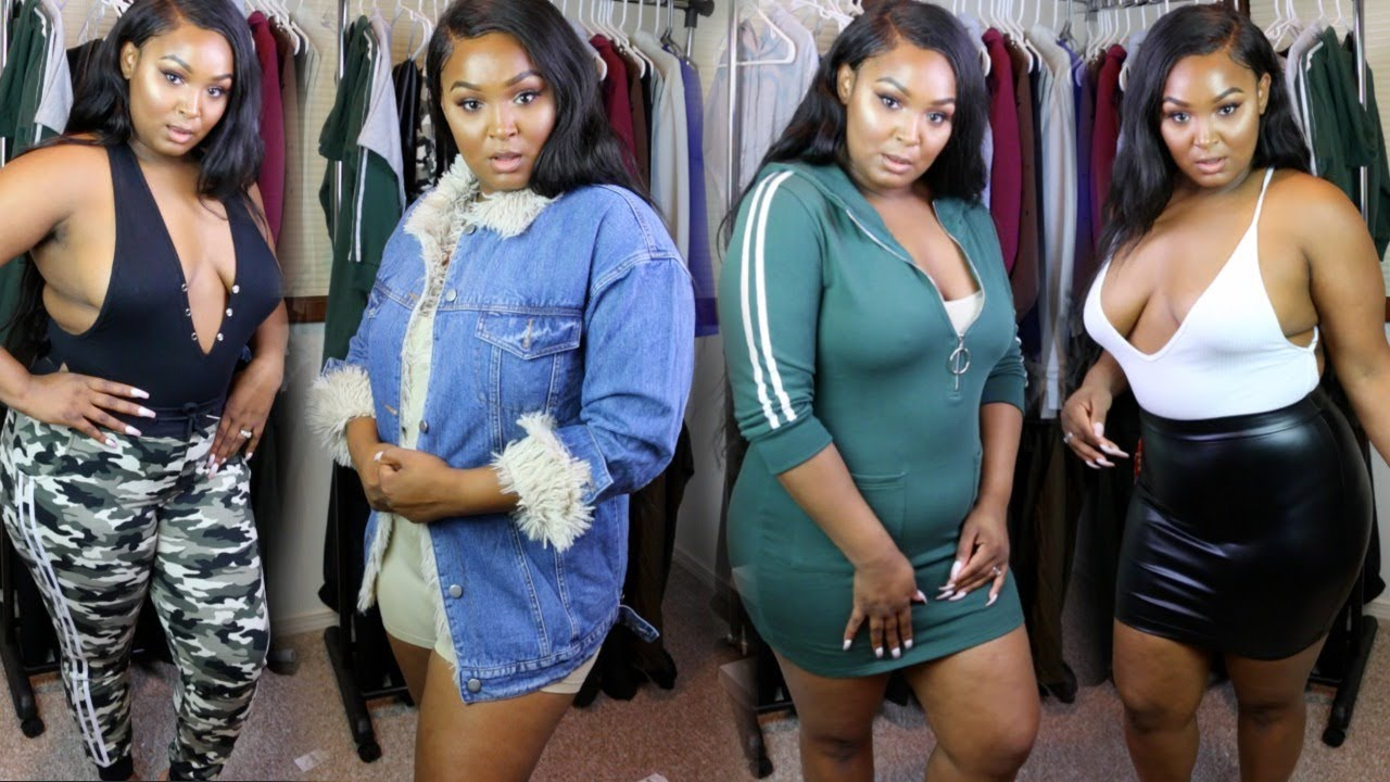 curvy/thick girl try-on haul | pre-fall items | ft. honey bum - youtube