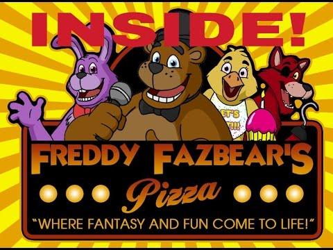The Truth Behind - Freddy Fazbears Pizza! (Inside Footage)!