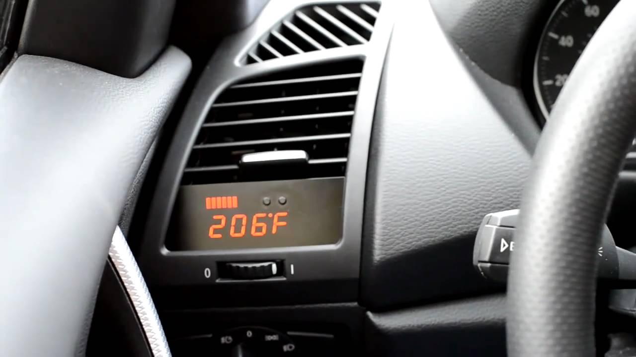 P3cars bmw v i d i gauge v2 in car demo