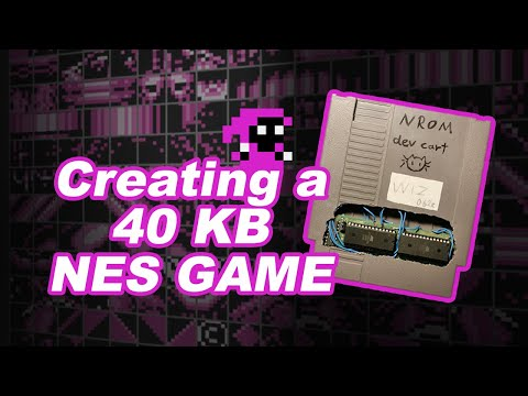 How we fit an NES game into 40 Kilobytes : programming