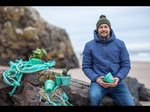 Ocean Plastic Pots meets Ghost Fishing UK