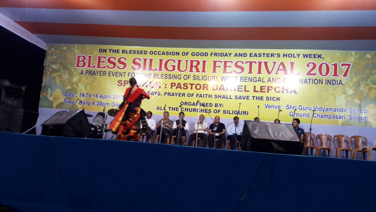 Bengali Christian Dance by Nabo Jeebon Church Siliguri