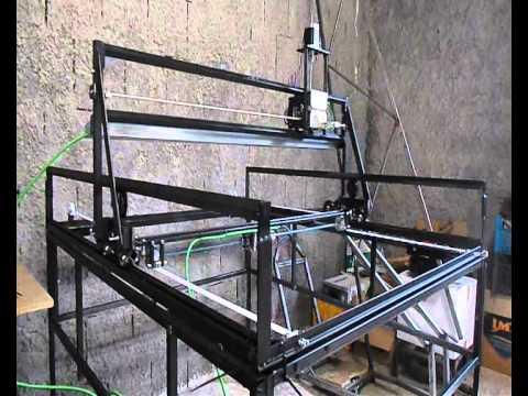 homemade CNC taglio plasma