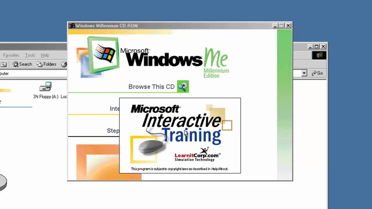 Learn microsoft windows me millennium edition download