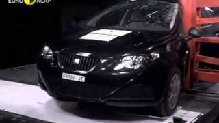 Краш тест Seat Ibiza 2008 (E-NCAP)