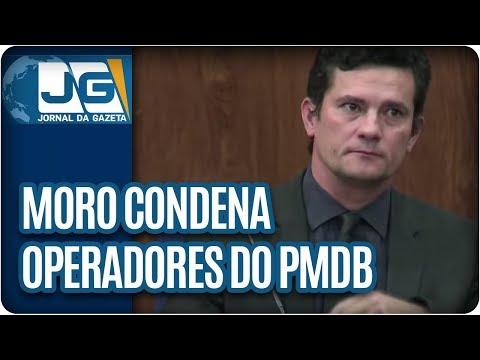 Moro condena operadores do PMDB