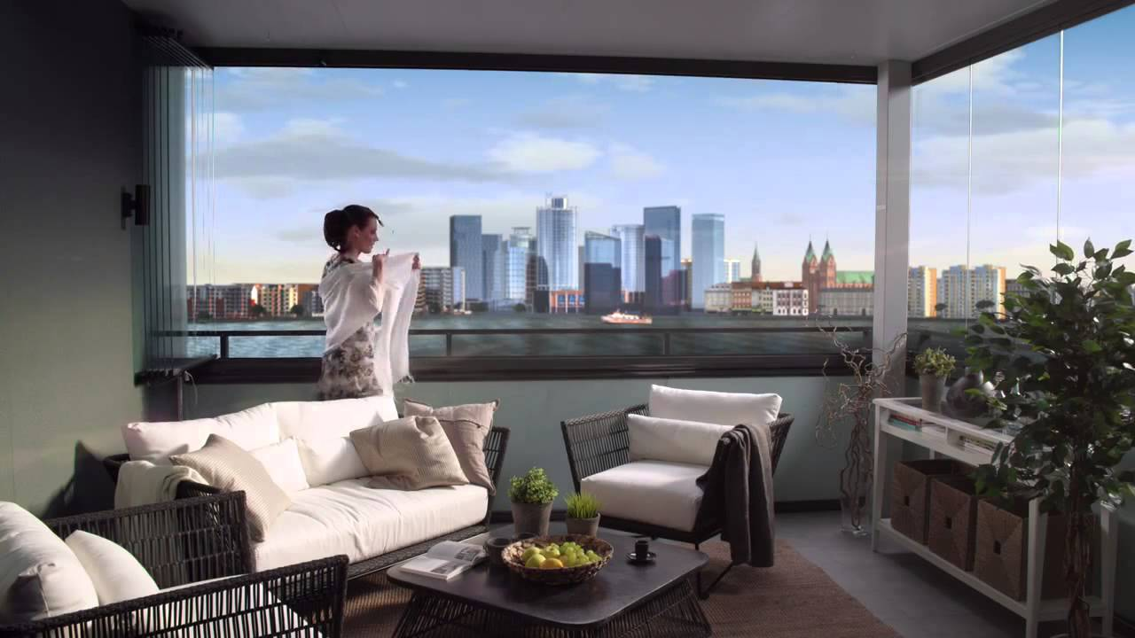 How To Use The Lumon Balcony Glass System Youtube