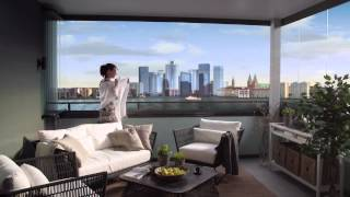 How to use the Lumon balcony glass system