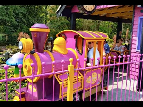 Train Rides for kids / Peppa Pig World Park / Train Song