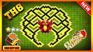Clash Of Clans Best Town Hall 8 TH8 Farming Base 2019 TH8 Farming Base Anti Everything
