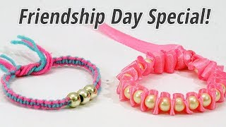 DIY Friendship Bracelets : How to Make Friendship Band at Home | How to Make Rakhi at home