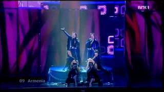 Armenia - Final - Eurovision 2009 (HD)