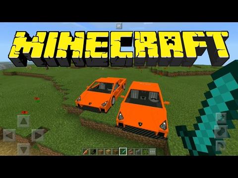 Minecraft Indonesia - Sports Car: Lamborghini (Add-On MCPE 1.0.2.1)