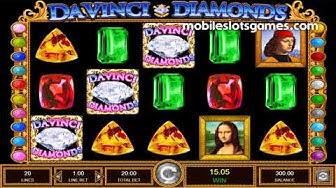 Da Vinci Diamonds Gameplay Review | MobileSlotsGames.com
