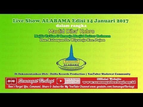 Maulid Diba' Full @ALABAMA2017