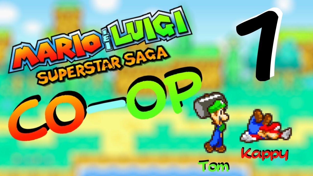 Mario Luigi Superstar Saga Co Op 1 Silent Voices