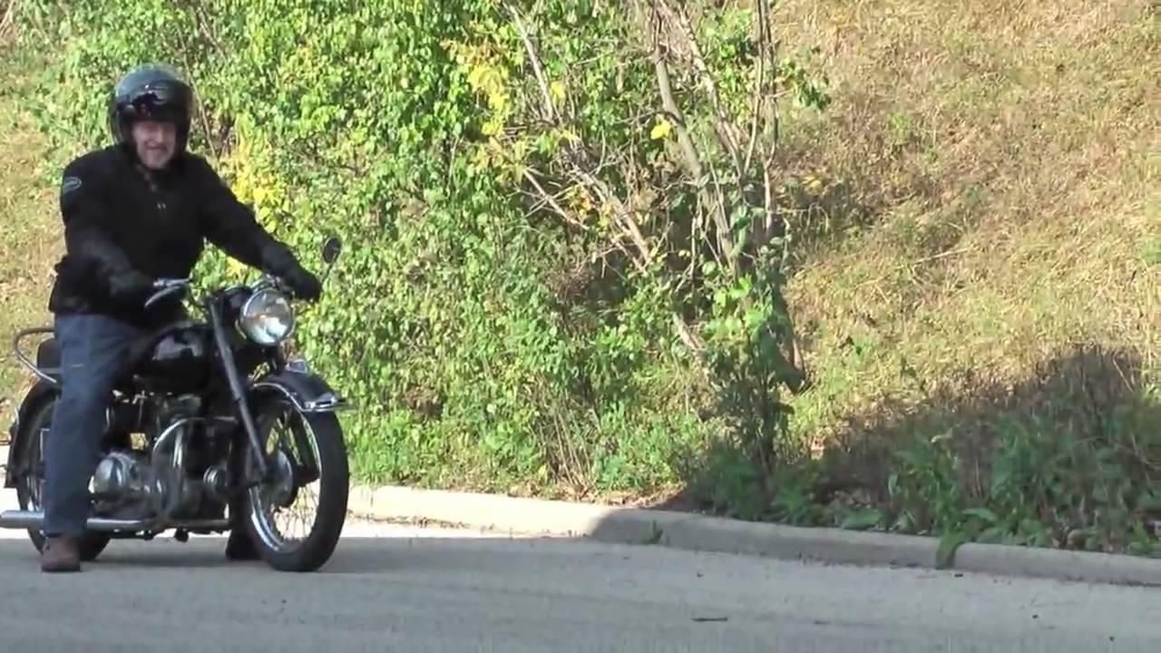 1951 Indian Warrior Motorcycle