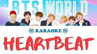 Heartbeat - BTS   Karaoke, Instrumental with lyrics (romanized)