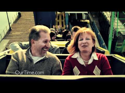 OurTime Brian & Joann TV Commercial 1  download music from the ad at: wwwOurTimecomMusic