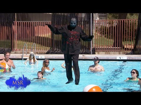 HOLY TRICK! MAGICIAN WALKS ON WATER!