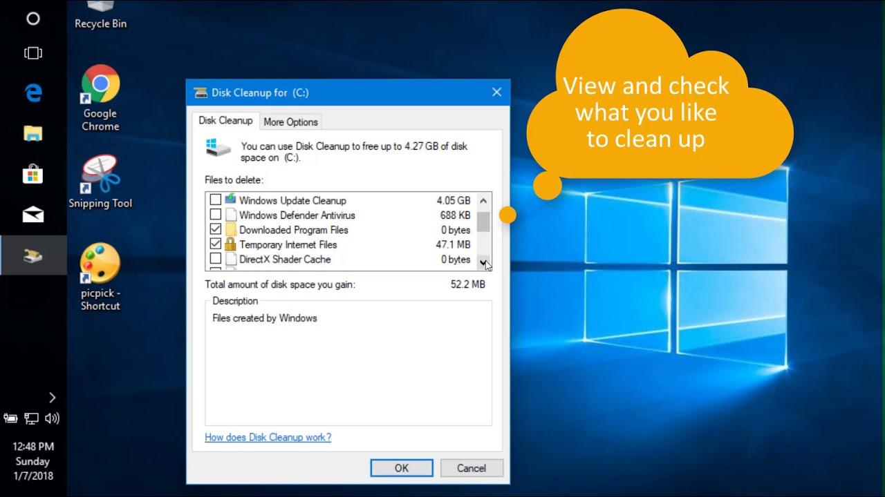 windows disk cleanup download