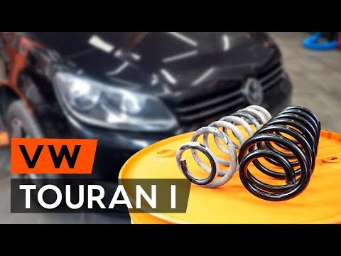 How to replace front springs on VW TOURAN 1 (1T3) [TUTORIAL AUTODOC]