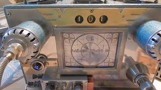 Ламповый усилитель в стиле Fallout -  Fallout vacuum tubes amplifier