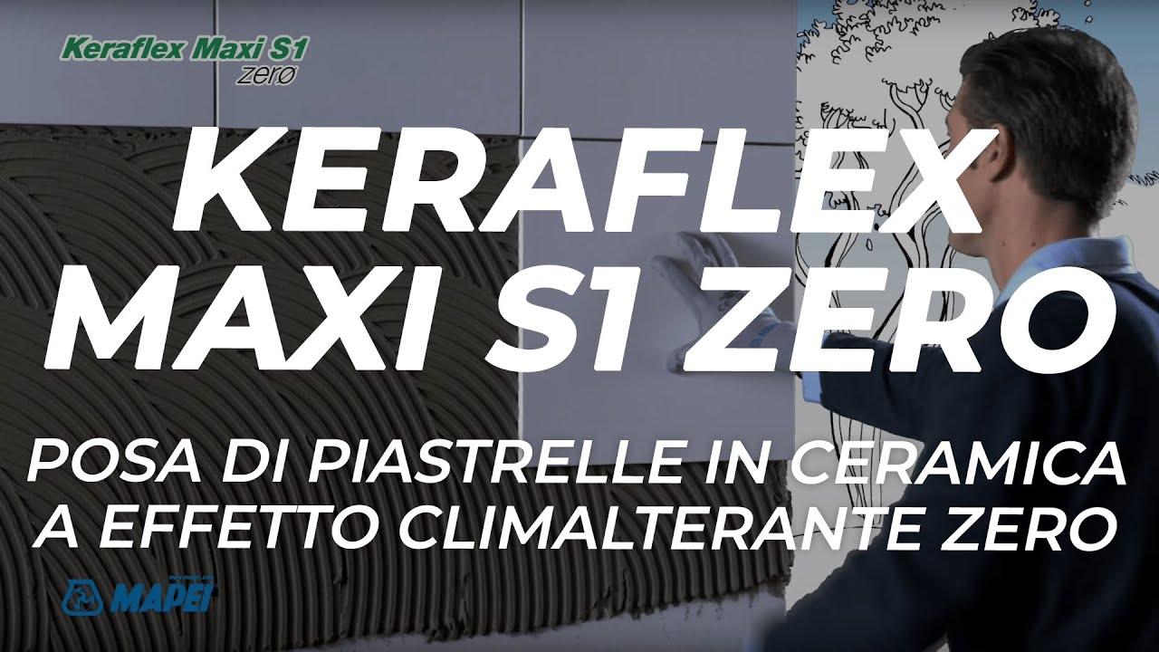 Mapei: keraflex maxi s1 zero impatto zero youtube