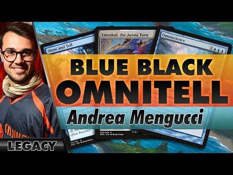 Blue-Black OmniTell - Legacy | Channel Mengucci
