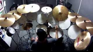 IRON MAIDEN Rime Of The Ancient Mariner ROD SOVILLA DRUM COVER