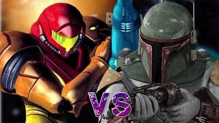 Samus Aran vs Boba Fett. Épicas Batallas de Rap del Frikismo T2 | Keyblade ft. Asuna