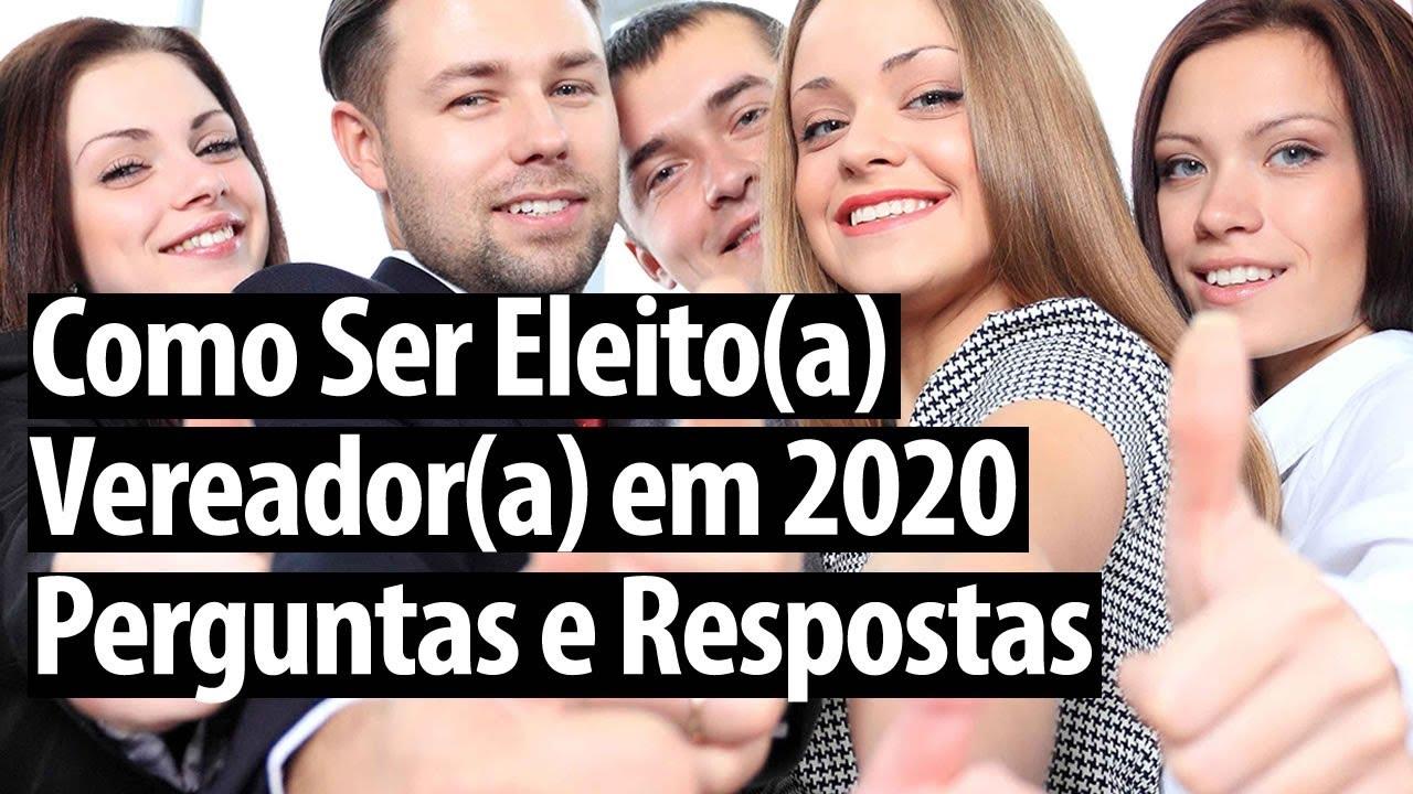 Como Ser Eleito(a) Vereador(a) em 2020 Perguntas e Respostas | Anderson Alves