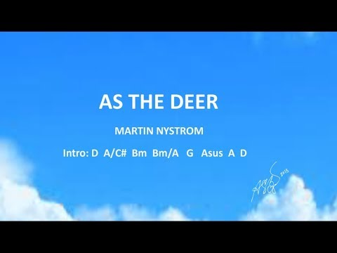 5.2 MB) As The Deer Chords - Free Download MP3