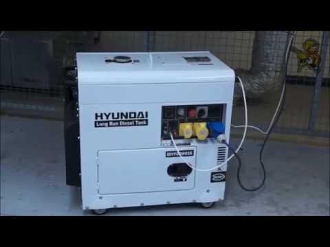 Hyundai dhy6000se cod 65231 generatore di corrente diesel for Generatore di corrente bricoman